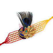 Variety of Zardozi Rakhi Online Rakhi Store at Lowest Prices
