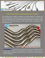 Basics Instruction to learn About Pipe and Tube Bending In NZ