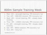 800 meter training program