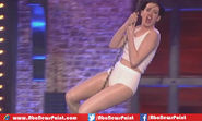Anne Hathaway Performs on Wrecking Balls as Bad Girl Same Miley Cyrus in New Teaser of Lip Sync Battle