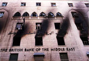 BRITISH BANK OF MIDDLE EAST ROBBERY