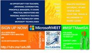 SchoolNet SA - IT's a Great Idea: Come along to a 2 hour MicrosoftMeet for teachers in Cape Town in May…sign up today!