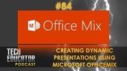 Creating Dynamic Lessons using Microsoft Office Mix