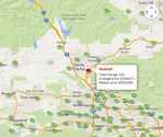 Newhall CA Median Listing Price $549,950