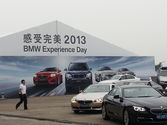 Event Tent for BMW Car Show