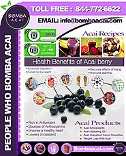 Acai Berry Nutrition Facts and Health Benefits