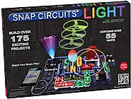 Snap Circuits Lights Electronics Discovery Kit - Age 8 to 15