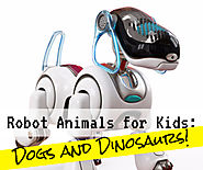 5 Robot Animal Toys for Kids for 2016-2017 – Dogs and Dinosaurs!