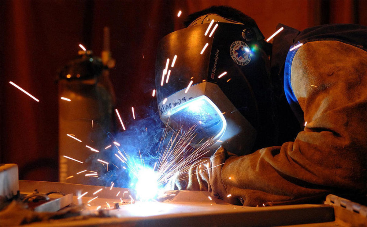 Headline for welding equipment