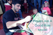 Players Are Good Role Model