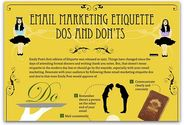Infographic: Email marketing etiquette