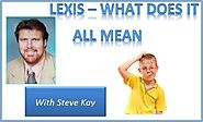 The Importance of Lexis and English Fluency