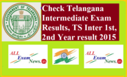 Telangana Intermediate Exam Results, TS Inter 1st, 2nd Year result 2015 - All Exam News|Results|Exam Results|Recruitm...