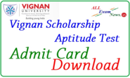 Download Vignan Scholarship Hall Ticket VSAT Admit Card 2015 - All Exam News|Results|Exam Results|Recruitment 2015