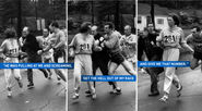Behind The Photo That Changed The Boston Marathon Forever