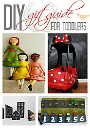 Beginners & Advanced: a Realistic, DIY Toddler Gift Guide