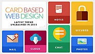 Card Based Website Design - Latest Trend Unleashed in 2015