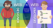 Web Designer V/S Web Developer - Differences in the Work Pattern 2015
