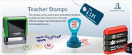Education: Teacher Stamps