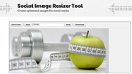 Social Image Resizer Tool | Create optimized images for social media