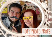 DIY April Fool Photo Props