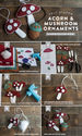 Make Felt Mushrooms and Acorn Gift Toppers - Lia Griffith
