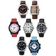 Great Deals on Branded Stylish Watches Combo's Online