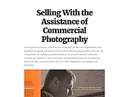 Selling With the Assistance of Commercial Photography