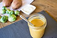 Balsamic Almond and Turmeric Salad Dressing