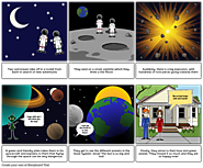 Exploring the Solar System storyboard by: mariadauden