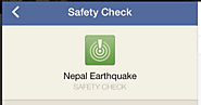 Google and Facebook Help Nepal Earthquake Survivors and Contacts Connect
