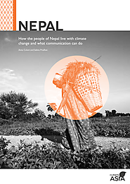 How the people of Nepal live with climate change and what communication can do