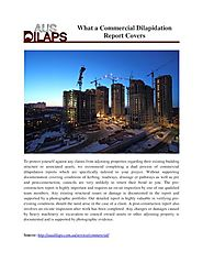 What a Commercial Dilapidation Report Covers
