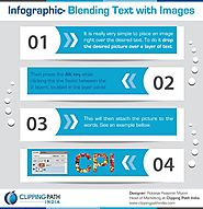 Infographic – Blending Text with Images