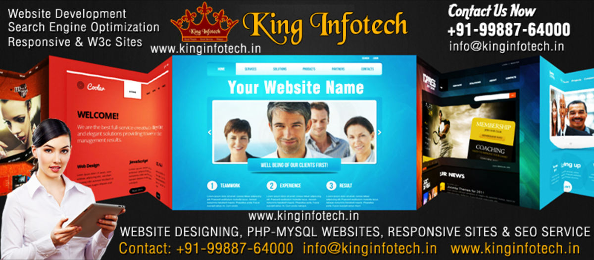 Headline for Website Designing, Website Development, Serach Engine Optimization, PHP-MYSQL Websites, Responsive Websites in india