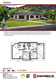 Denton Brick Home by Home Builders Christchurch
