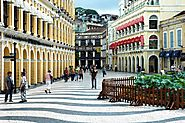 The Largo Do Senado Historic Square