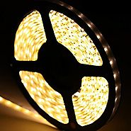 godlight® Bulbs LED Strip light, Waterproof LED Flexible Light Strip 12V with 300 SMD LED, 5050 16.4 Foot / 5 Meter (...