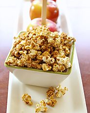 A Healthier Caramel Corn Made With GMO Free Corn & No Corn Syrup! - Whole Lifestyle Nutrition | Organic Recipes | Hol...