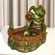 Eternity Mother Frog Tabletop Fountain