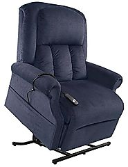Mega Motion Easy Comfort Superior 3 Position Heavy Duty Big Lift Chair 500 lb capacity Chaise Lounge Recliner - Ocean...