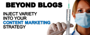 Beyond Blogs: Inject Variety Into Your Content Marketing Strategy - SEO.com