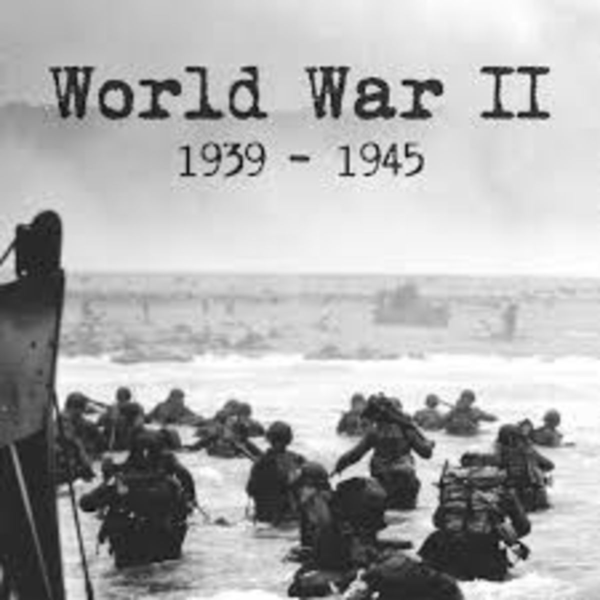 Headline for 7 Blogs on World War II