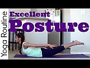 10 Minute Yoga For Posture Routine