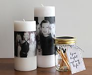 evite: Mother's Day: DIY Photo Candle