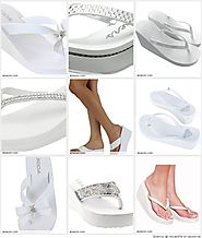 Best White Wedge Flip Flops