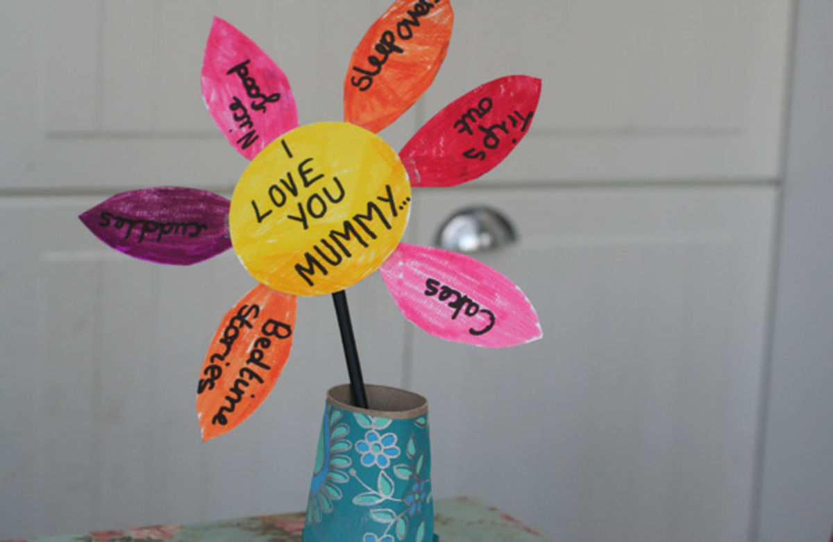 Headline for Mother's Day Activities in Classroom