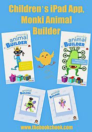 Children's iPad App, Monki Animal Builder