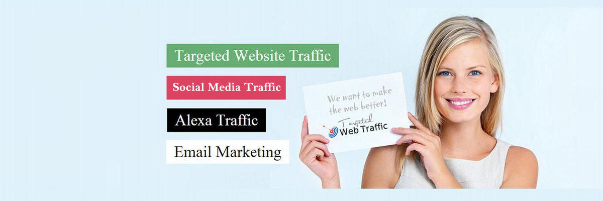 Headline for Buy Targeted Website Traffic