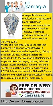 Aurogra tablets are produced with the sole motto of helping men